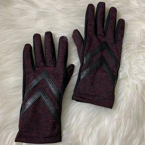 Isotoner women's gloves spandex shorties
